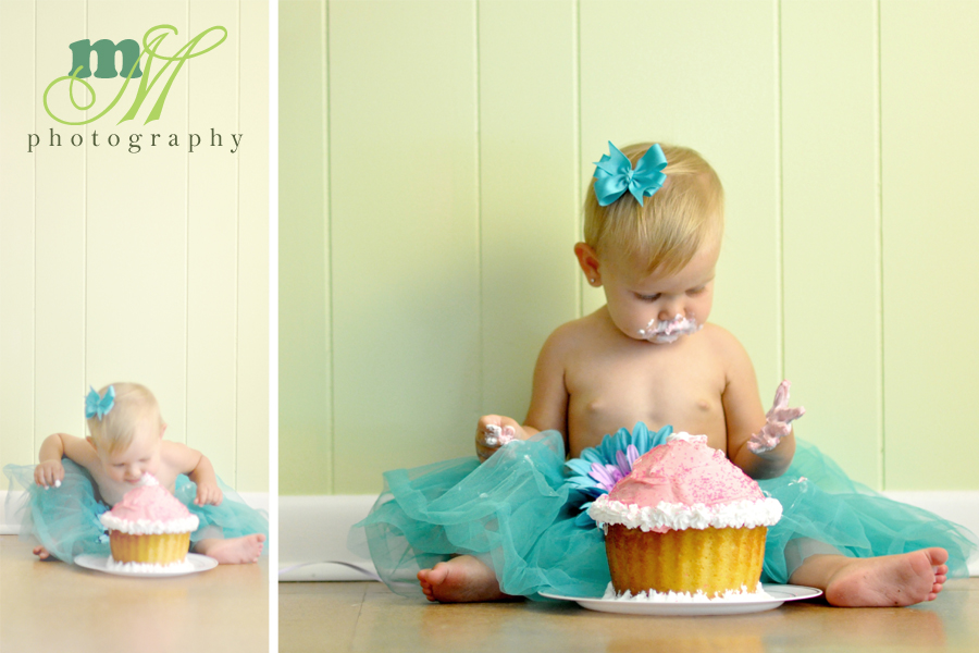 Raleigh NC Cake Smash Photography