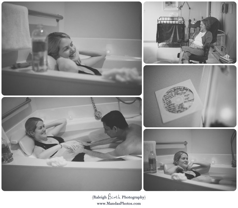 Chapel Hill Birth Photography | Birth Center | Nalin